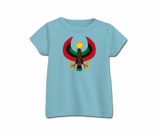 Toddler Aqua Blue Heru T-Shirt