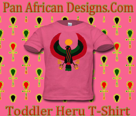 Toddler Hot Pink Heru T-Shirt