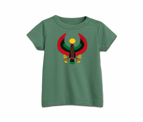 Toddler Grass Green Heru T-Shirt