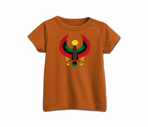 Toddler Orange Heru T-Shirt