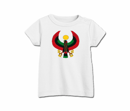 Toddler White Heru T-Shirt
