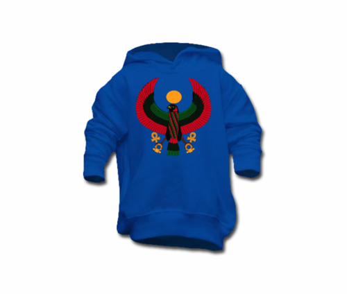 Toddler Royal Blue Heru Pullover Hoodie