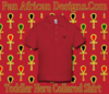 Toddler Red Heru Collard Shirt