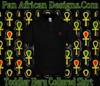 Toddler Black Heru Collard Shirt