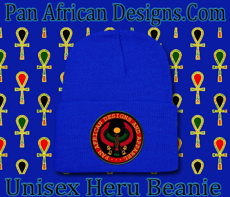Unisex Royal Blue Heru Beanie