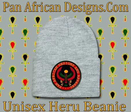 Unisex Heather Grey Heru Beanie