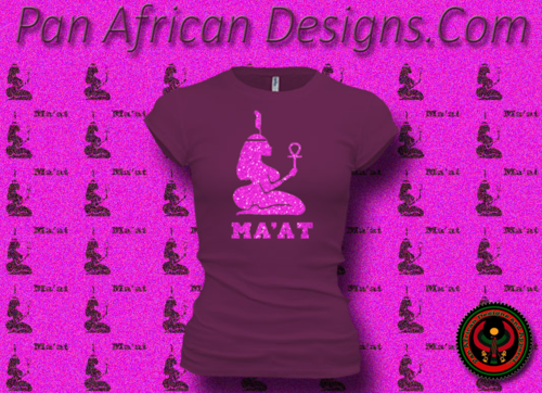 Women's Current and Pink Maat T-Shirts with Glitter