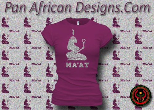 Women's Current and Silver Maat T-Shirts with Glitter