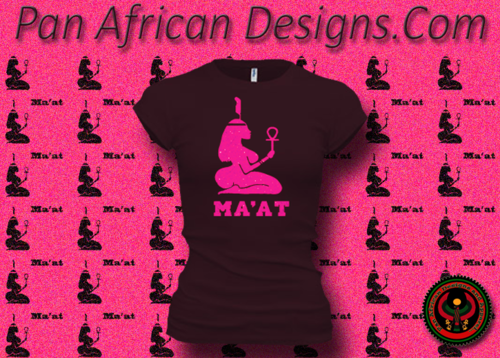 Women's Plum and Hot Pink Maat T-Shirts with Glitter