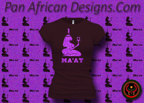Women's Plum and Purple Maat T-Shirts with Glitter
