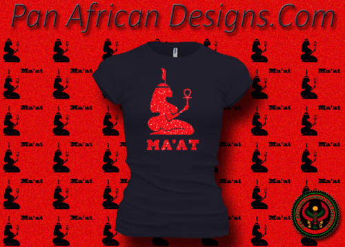 Women's Midnight Blue and Red Maat T-Shirts with Glitter