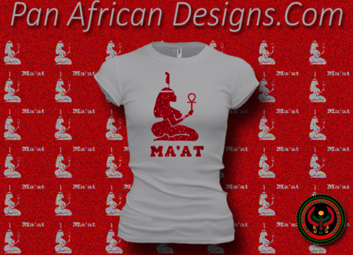 Women's Silver and Red Maat T-Shirts with Glitter