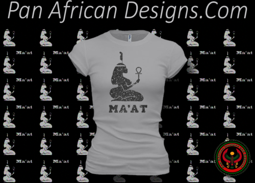 Women's Silver and Black Maat T-Shirts with Glitter
