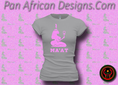 Women's Silver and Pink Maat T-Shirts with Glitter