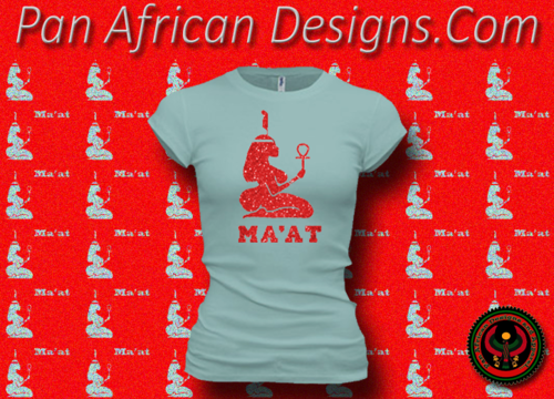 Women's Seafoam and Red Maat T-Shirts with Glitter