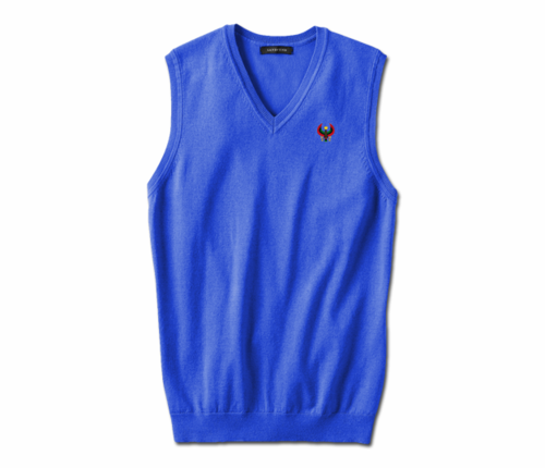 Men's Royal Blue Heru Sweater Vest