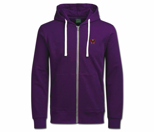 Women's Purple with White String Heru Hoodie