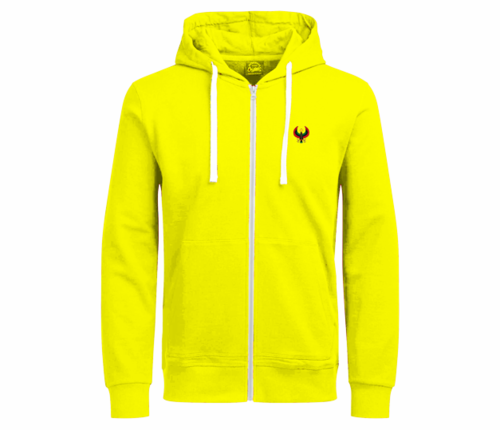 Women's Sunshine Yellow with White String Heru Hoodie
