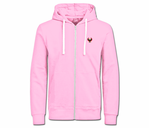 Women's Pink with White String Heru Hoodie