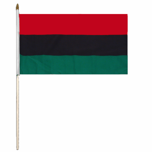 Pan African Handheld Flag