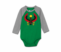 Toddler Heru Baseball Onesie