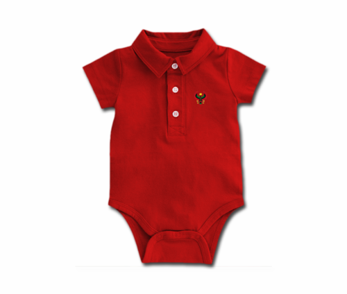 Toddler Cherry Heru Collar Onesie