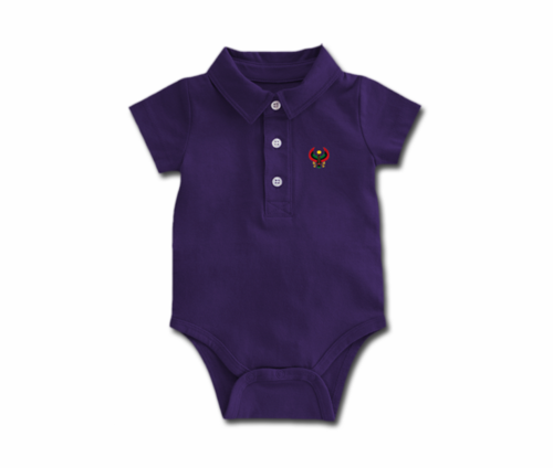 Toddler Grape Heru Collar Onesie