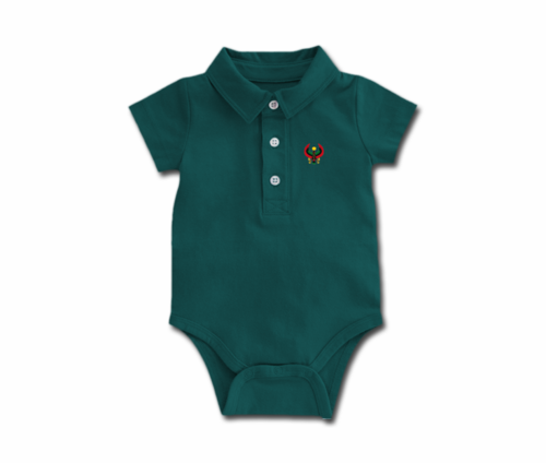 Toddler Spruce Heru Collar Onesie