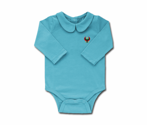 Girls Pool Toddler Long Sleeve Heru Collar Onesie