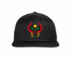 Men's Heru Black Flat Brim Baseball Hat