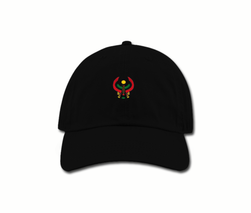 Men's Black Heru Baba (Dad) Hat