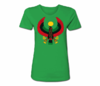 Women's Kelly Green Heru Regular Fit T-Shirt
