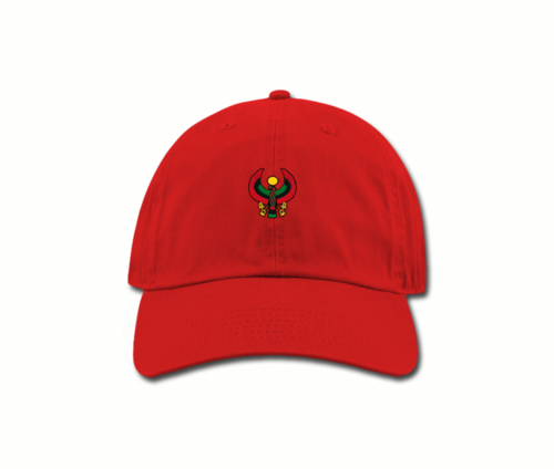 Women's Red Mama (Dad) Hats