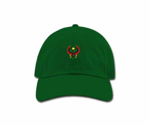 Women's Kelly Green Mama (Dad) Hats