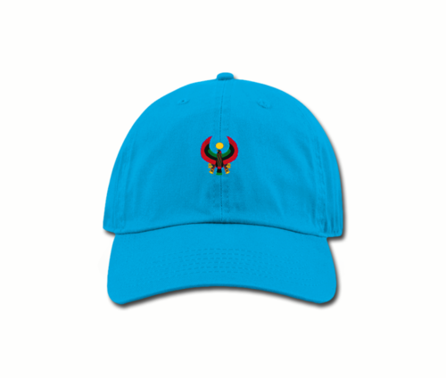 Women's Turquoise Blue Mama (Dad) Hats