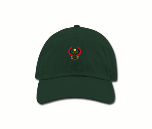 Women's Spuce Green Mama (Dad) Hats