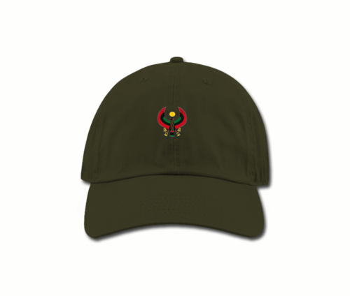 Women's Army Green Mama (Dad) Hats