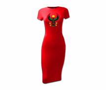 Women's Heru Short Sleeve Bodycon Dress