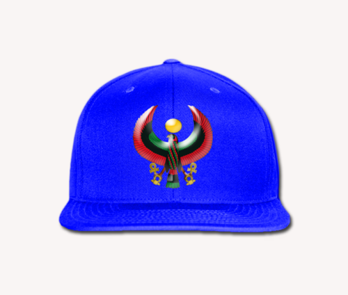 Men's Royal Blue Heru Snap Back (Flexstyle Logo)