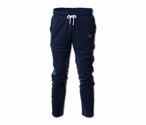 Men's Navy Blue Heru Slim Fit Lightweight Sweatpant  (with Draw String)
