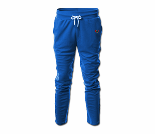 Men's Royal Blue Heru Slim Fit Lightweight Sweatpant  (with Draw String)