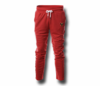 Men's Red Heru (Flex Logo) Slim Fit Lightweight Sweatpant  (with Draw String)