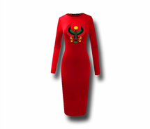 Women's Heru Long Sleeve Bodycon Dress
