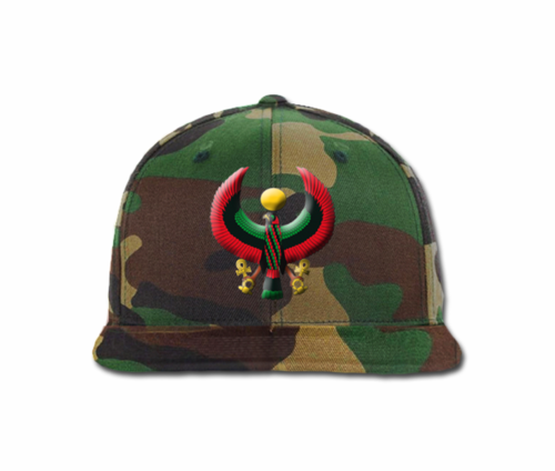 Men's Camo Heru Flex Stlye Snap Back