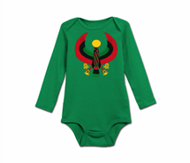 Infant Heru Long Sleeve Onesie