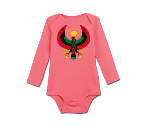 Infant Azalea Heru Long Sleeve Onesie