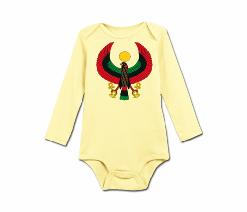 Infant Butter Heru Long Sleeve Onesie