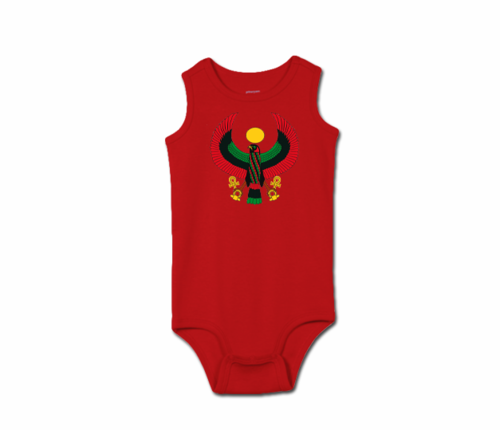 Toddler Red Heru Tank Onesie