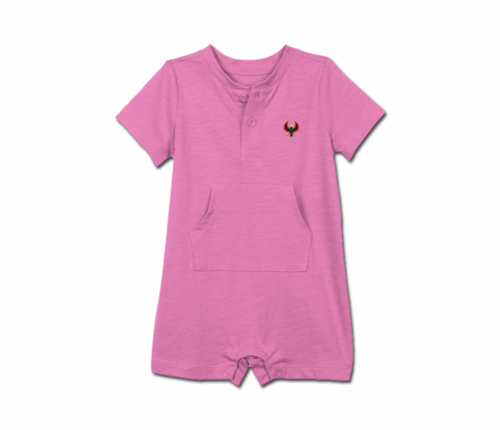 Toddler Lilac Heru Short Sleeve Romper