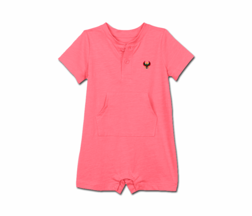 Toddler Alazea Heru Short Sleeve Romper